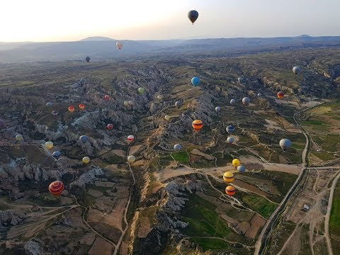 2018 Hot Air Balloon Ride, Cappadocia, A must in Turkey!