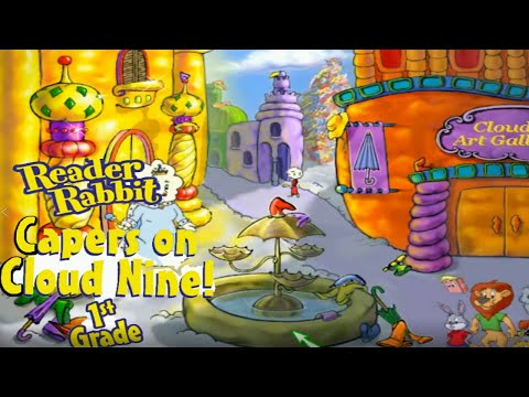 Reader Rabbit 1st Grade: Capers On Cloud Nine! | Let's Play (Learning Creations) (Demo Featured)