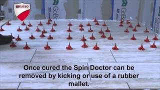 spin doctor tile leveling system wall floor installation