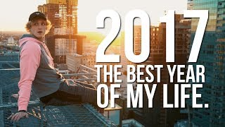 LOGAN PAUL - WHY 2017 WAS THE BEST YEAR OF MY LIFE. thumbnail