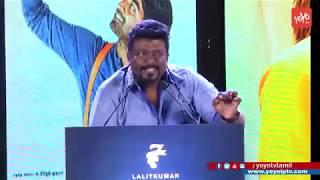 Parthiban Funny Speech at 96 Movie 100 Days Celebrations | Trisha | Vijay Sethupathi | YOYO TV Tamil
