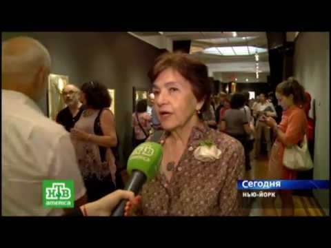 "Nation Arts Club.Foto Exhibition ""The third wave""  .NTV-America. Reporter Yulia Rydler."