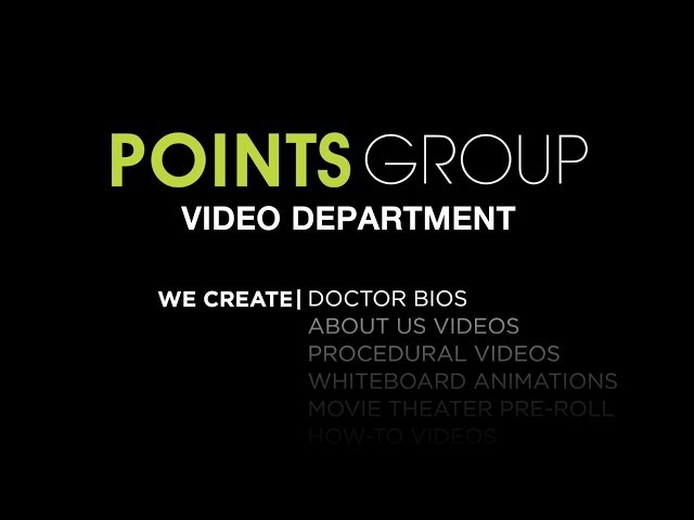 Points Group Video Reel