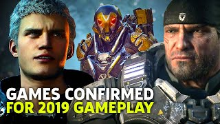 Biggest Games Confirmed For 2019 | Get Hyped With This Montage