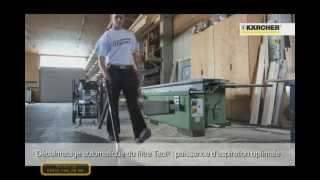 промышленный пылесос karcher nt серии tact