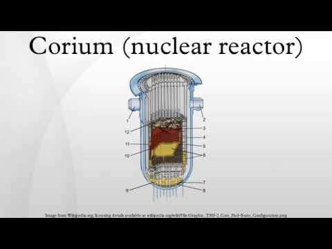 Corium (nuclear reactor)