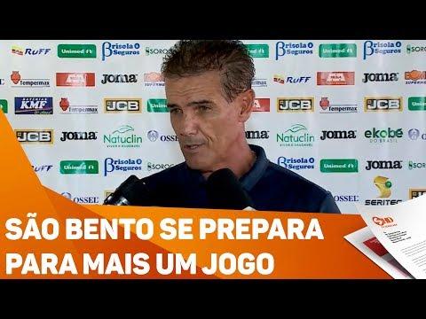 São Bento se prepara para mais um jogo - TV SOROCABA/SBT