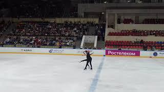 Фигурное катание Танцы Никита Кацалапов и Виктория Синицина Лужники 07 09 2019