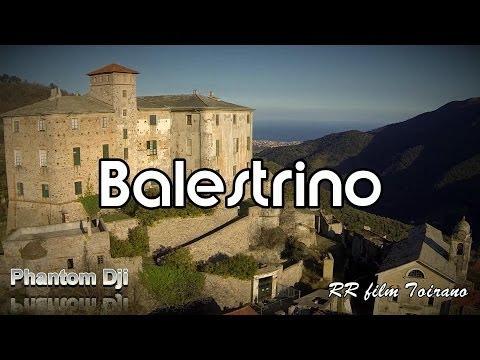 Balestrino Seen from above with Drone Dji Phantom