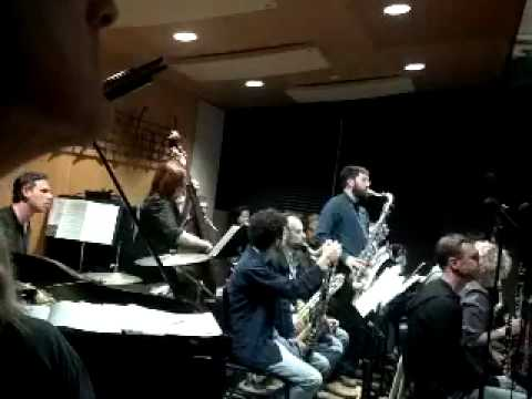 Ted Brinkley jazz argosy March 4 2012 Patrick Wolff tenor solo