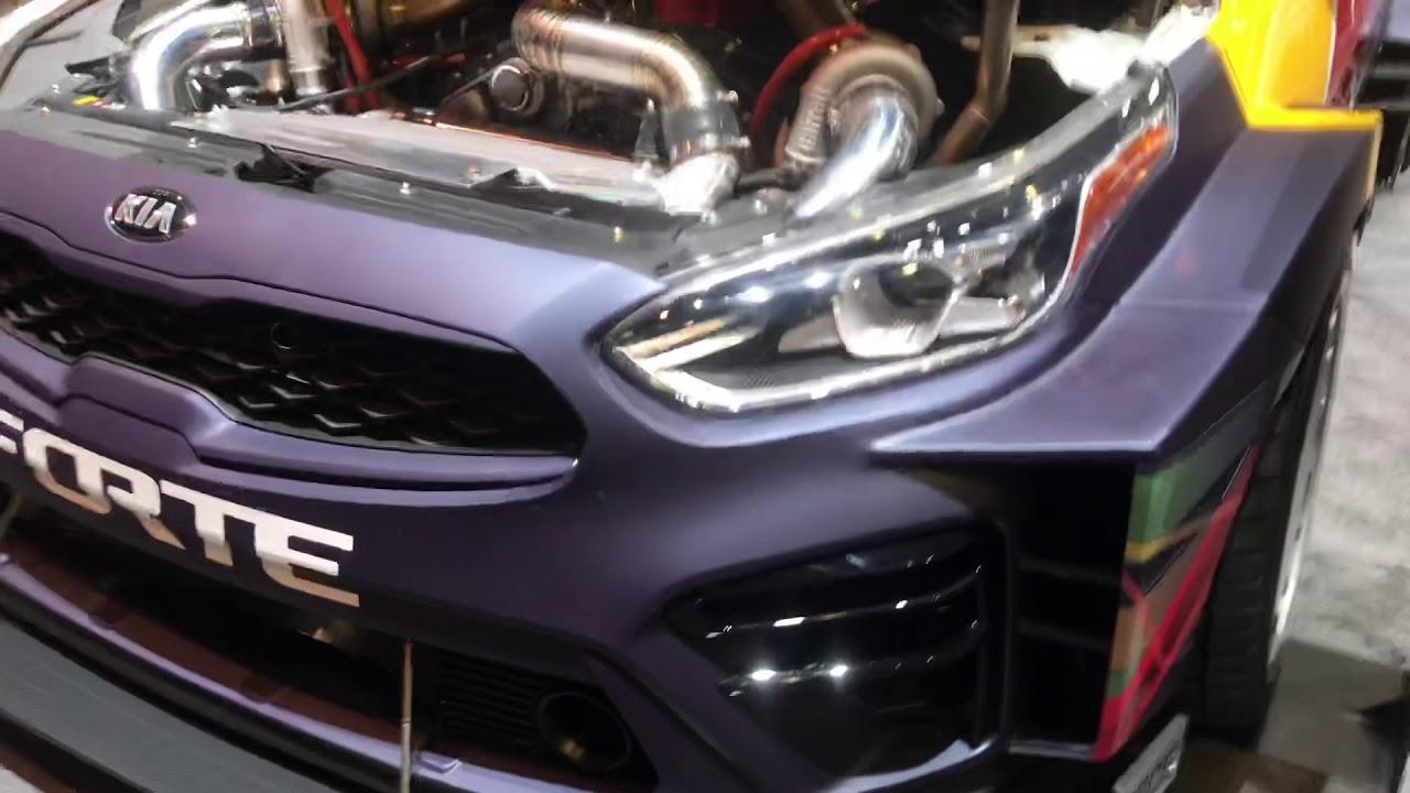 Kia Forte Redbull Drift Car Youtube
