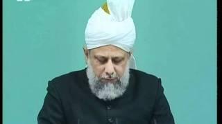 Freitagsansprache 28. Oktober 2005 - Islam Ahmadiyya