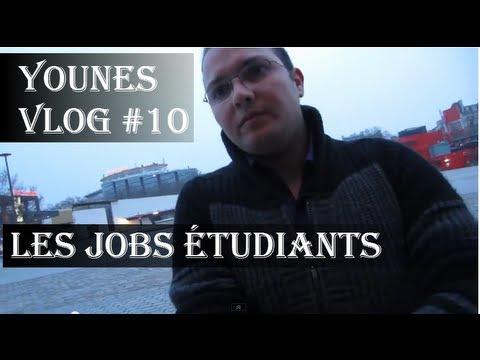 YounesVlog #10 - [Partie 1] - Jobs étudiants & Alternance