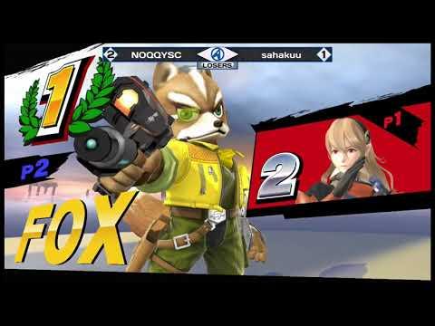 Lantrek 2018 - WiiU Singles - Losers Quarters - sahakuu(Fox) vs NOQQYSC(Corrin)