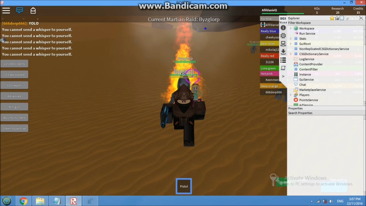 Roblox Hacking With Rc7 Whitelisted Account With Script Patched