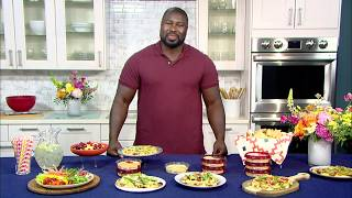 Vegan Summer Party Recipes with NFL All-Pro Ovie Mughelli
