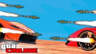 ЧИТЕРНАЯ ГОНКА С РАКЕТАМИ НА ВЫЖИВАНИЕ В GTA 5 ONLINE #299