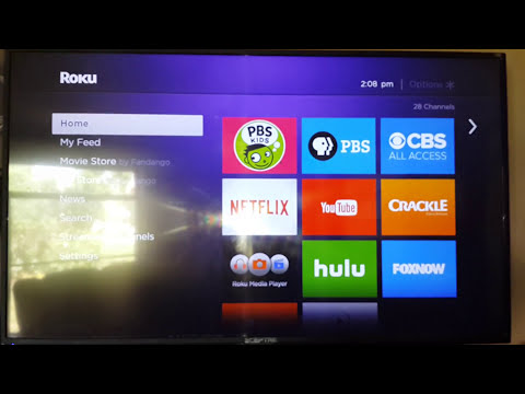how to access roku secret menu screen