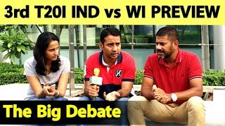 INDvsWI Preview: India Likely To Make Two Changes | The Cricket Debate | Vikrant Gupta