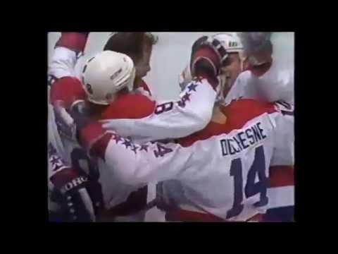 1986 Islanders Capitals playoff series highlights - YouTube b719833c9c77