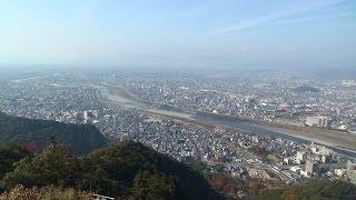 金華山の展望レストランからの眺め The view from the restaurant outlo...