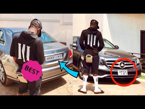 WOW- SHATTA WALE REGISTERS NEW BENZ AS ADVICE 1- 18 TO T3ASE SARKODIE