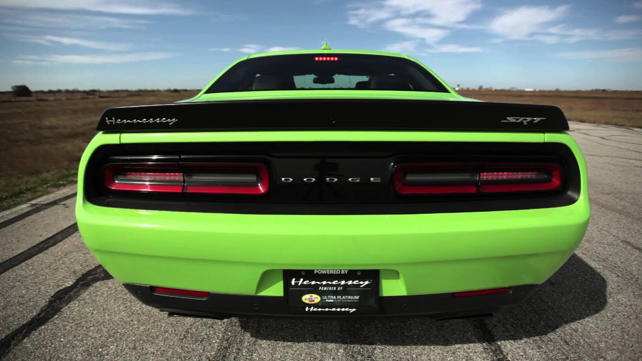 hennessey hpe850 hellcat challenger in action youtube. Black Bedroom Furniture Sets. Home Design Ideas