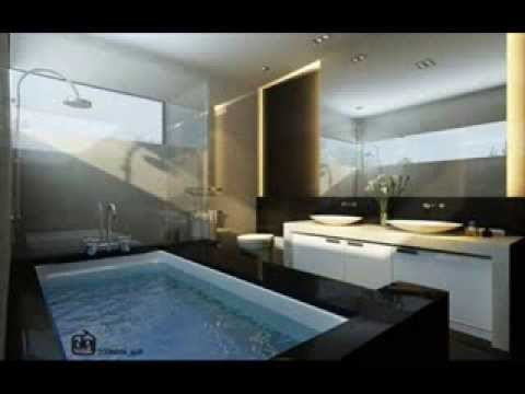 Modern large bathroom design ideas youtube for Large bathroom designs