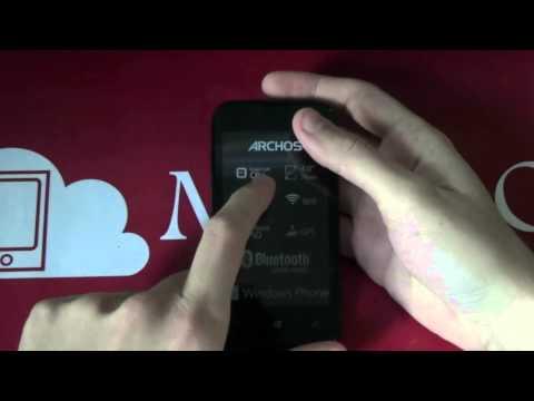 Unboxing Archos Cesium 40 - Windows Phone 8.1 & Dual Sim - MobileOS.it
