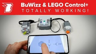 Control LEGO Control+ with BuWizz app: TOTALLY WORKING!