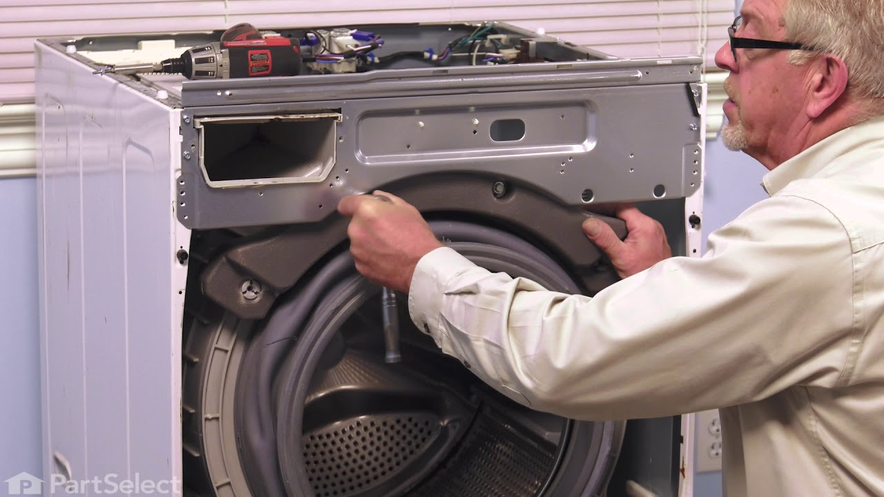 Lg Washer Repair How To Replace The Spider Assembly Lg 4434er0003c Youtube