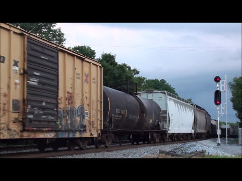 MUST SEE!!! Railfanning in Middle Tennessee (Early June 2013)