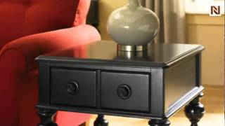 Mercer Rectangular Drawer End Table T3001321-22 By Hammary Furniture