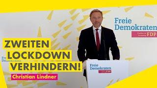 """""""Zweiten LOCKDOWN verhindern! Gorleben genau prüfen! Keine unnötige NEUVERSCHULDUNG!"""" #Lindner"""