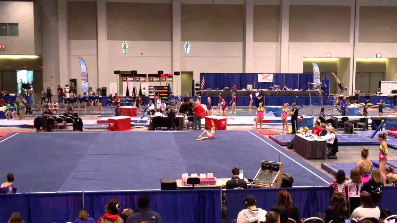 Lexi Mills-World Class Gymnastics-Level 9 Floor-Excalibur Cup ...