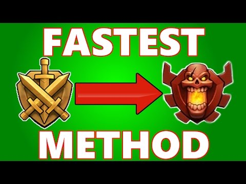 Clash Of Clans | Best Way To Hit Champions League + Titans! | CoC Attack Strategy Guide 2015!