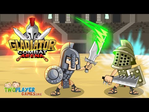 Gladiator Combat Arena  - 2 Player Game