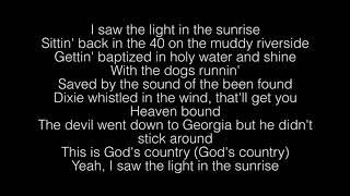 Blake Shelton- God's Country Lyrics