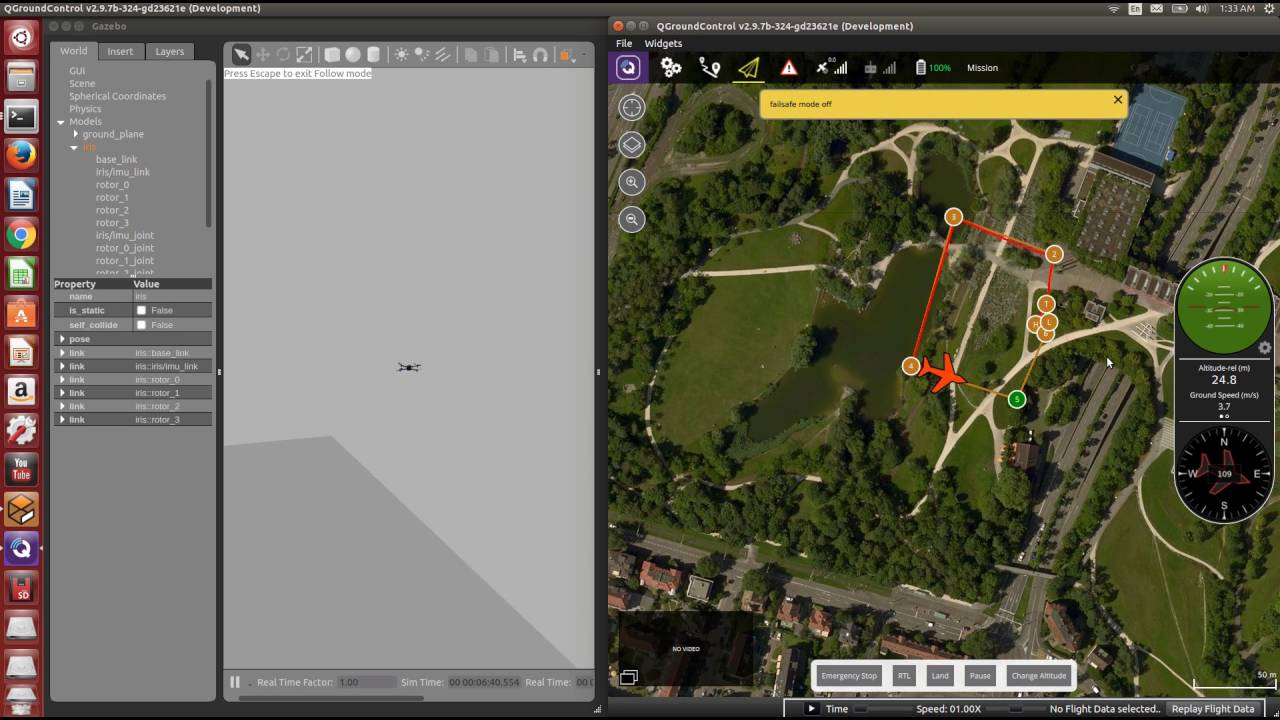 PX4 Software-In-The-Loop(SITL) Simulation on Gazebo