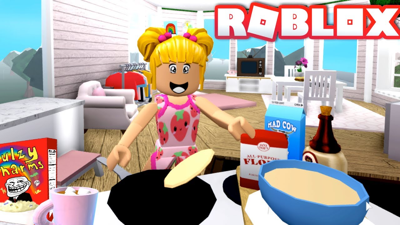 Roblox Goldie Morning Routine in NewTree House - Missing Titi Games?