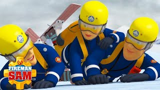 Fireman Sam US | Lights, Camera, Avalanche! | Best Snow Fire Rescues 🔥 Videos For Kids