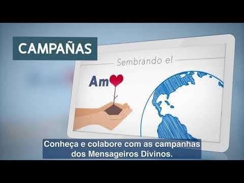 Nuevo portal de los MENSAJEROS DIVINOS / Novo portal dos MENSAGEIROS DIVINOS
