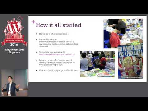 Powering your Content Site: Why WordPress? - WordCamp Singapore 2016