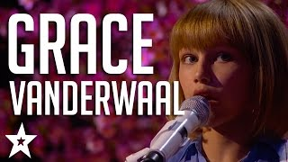 Grace VanderWaal Auditions & Performances America's Got Talent 2016 Finalist