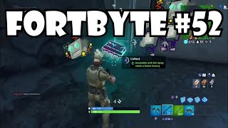"Fortnite Forbyte 52 Emplacement ""Bot Spray in Robot Factory"" Fortnite Fortbyte 52!"