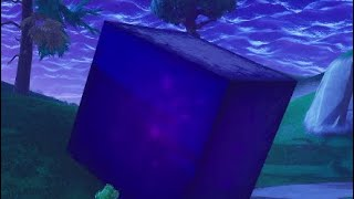 When a No Skin Finds the Cube in Fortnite | Dragon Ball Super