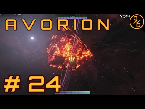 Avorion # 24 |  Cube Planet Update + Building a Scout Ship  | Avorion Gameplay