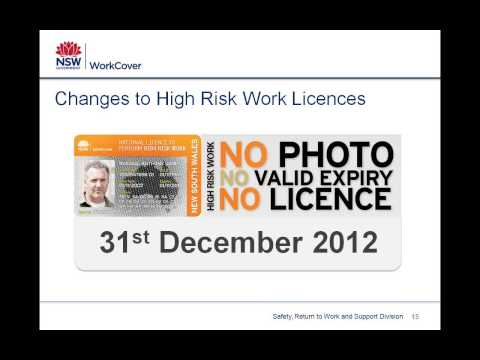 Work health and safety legislation - the basics