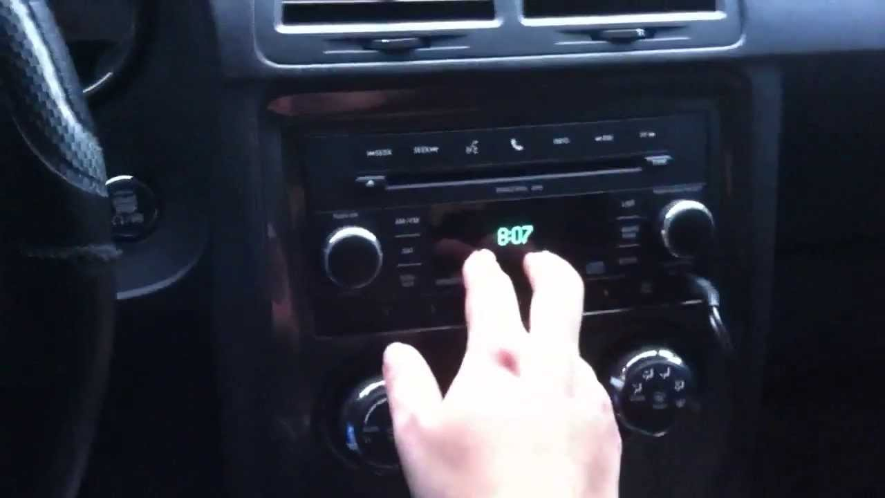 hight resolution of how to install aftermarket subs and amp on stock stereo on a 2011 dodge challenger se 3 6l v6 youtube