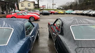 Muscle Car Lot 1/18/19 Maple Motors